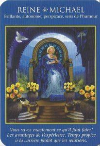 Lecture Angélique Reine de Michaël