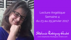 Lecture Angélique semaine 3 - du 23 au 29 janvier 2017