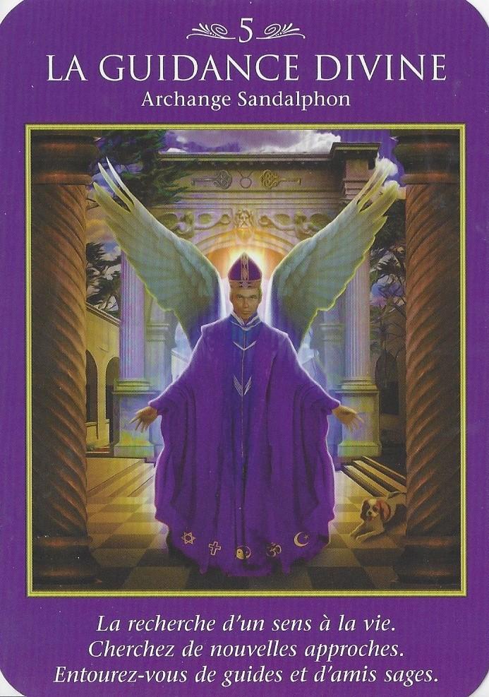 5 - La Guidance Divine - Archange Sandalphon