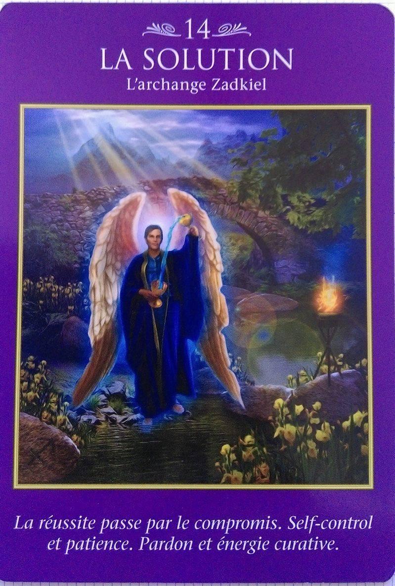 03- La Solution - Tarot des Archanges Doreen Virtue-