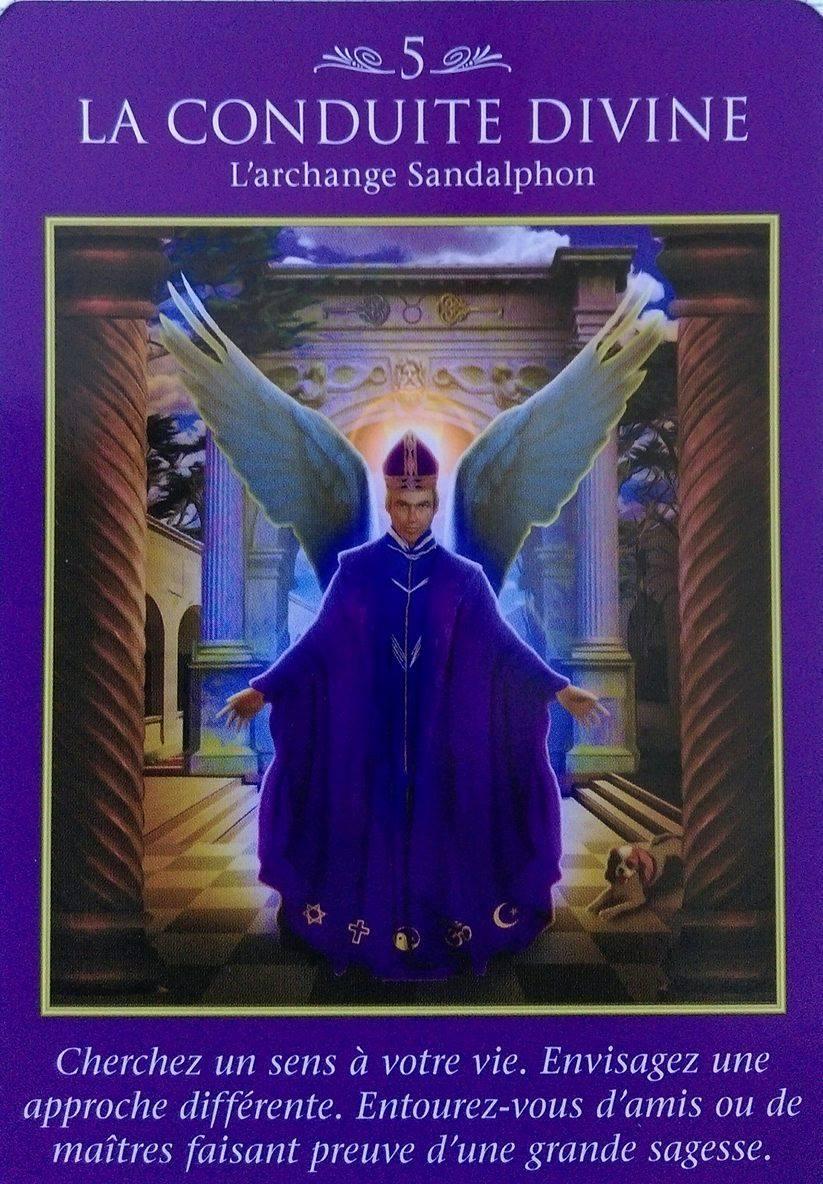06 - La Conduite Divine - Cartes Oracle des Archanges - Doreen Virtue