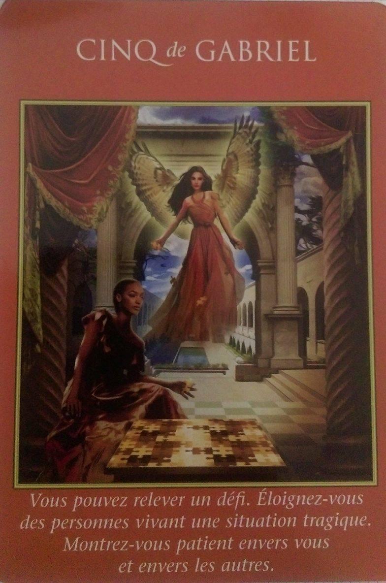 04- 5 de gabriel - Le Tarot des Archanges Doreen Virutue
