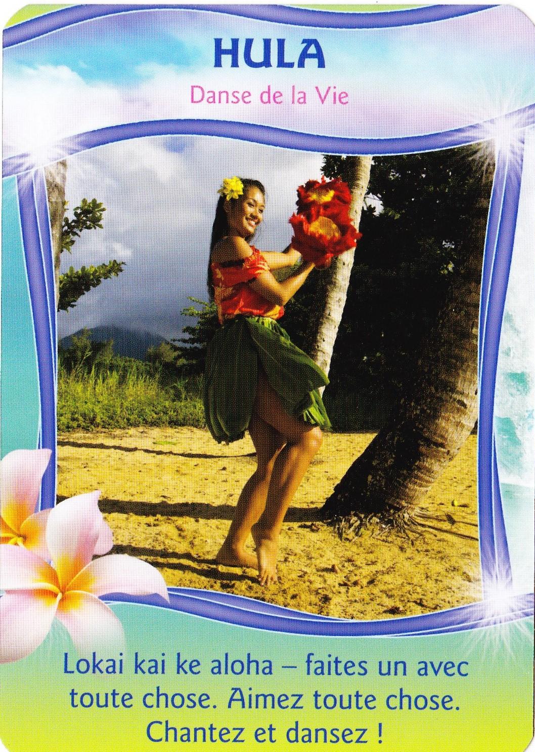 Hula - Cartes Aloha - A la Source du Chamanisme Hawaîen - Jeanne Ruland