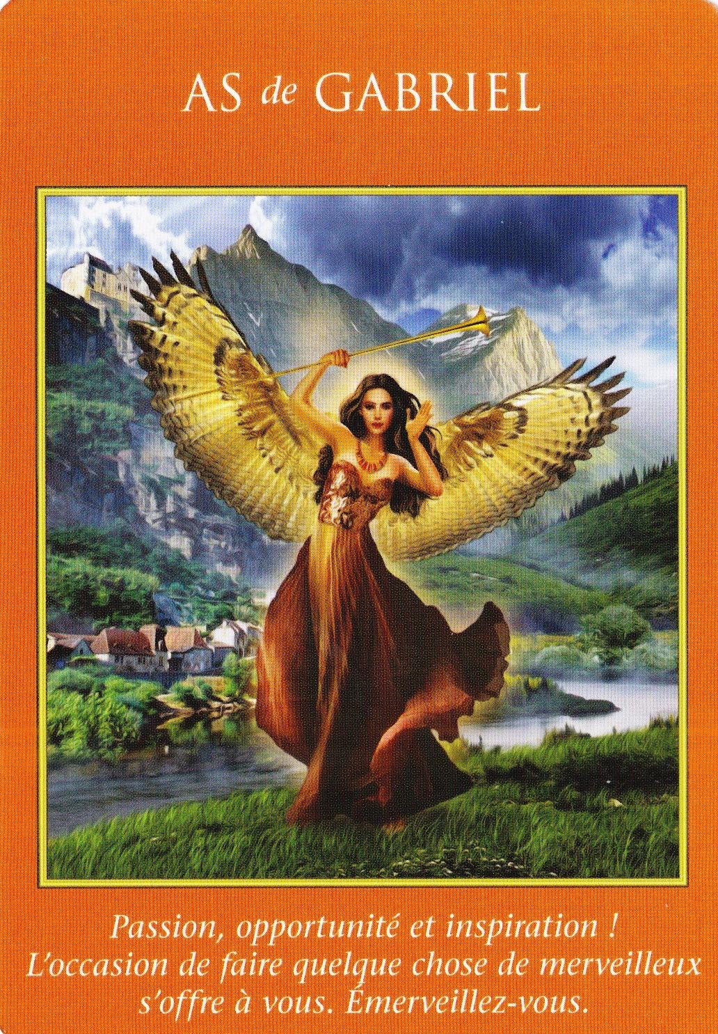 As de Gabriel - Le Tarot des Archanges Doreen Virtue - 2