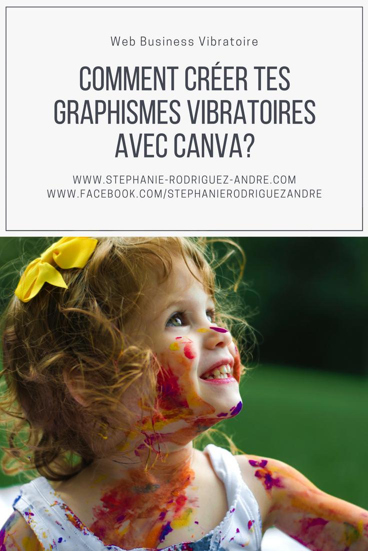 Comment créer tes graphismes vibratoires avec Canva - Stéphanie Rodriguez-André