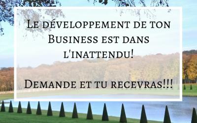 Le développement de ton Business est dans l'inattendu !