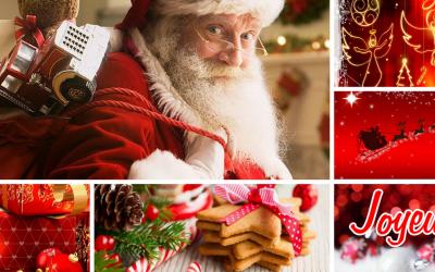 Vis un délicieux Noël rempli de Joie, d'Amour & de Pétillance ;-)