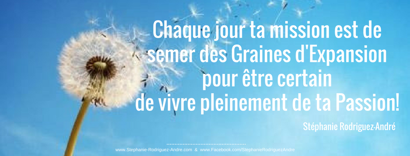 Sème des graine d'expansion - Stéphanie Rodrigue-André - WebBusinessVibratoire - Lodyllion - Pour Facebook